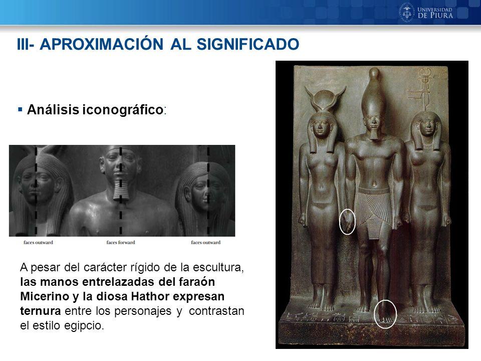 III- APROXIMACIÓN AL SIGNIFICADO