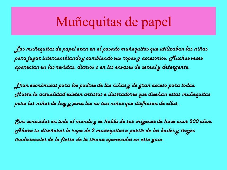 Muñequitas de papel