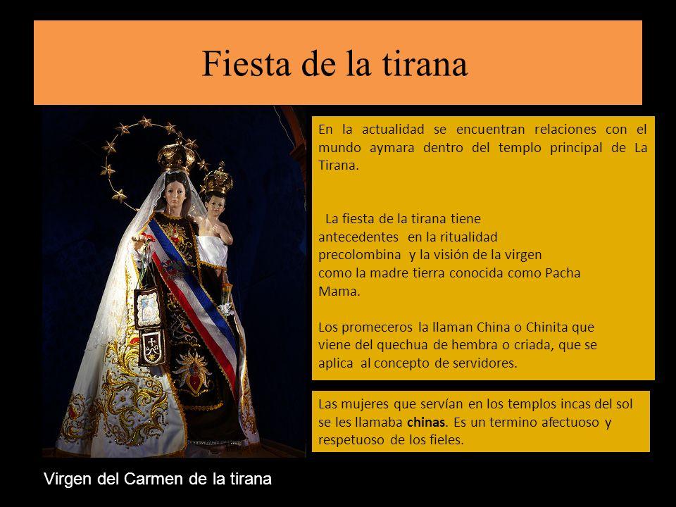 Fiesta de la tirana Virgen del Carmen de la tirana