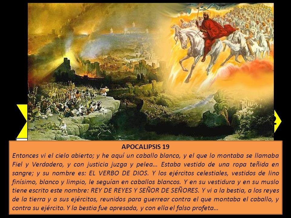 El Cielo abierto y el Verbo de Dios (jinete)