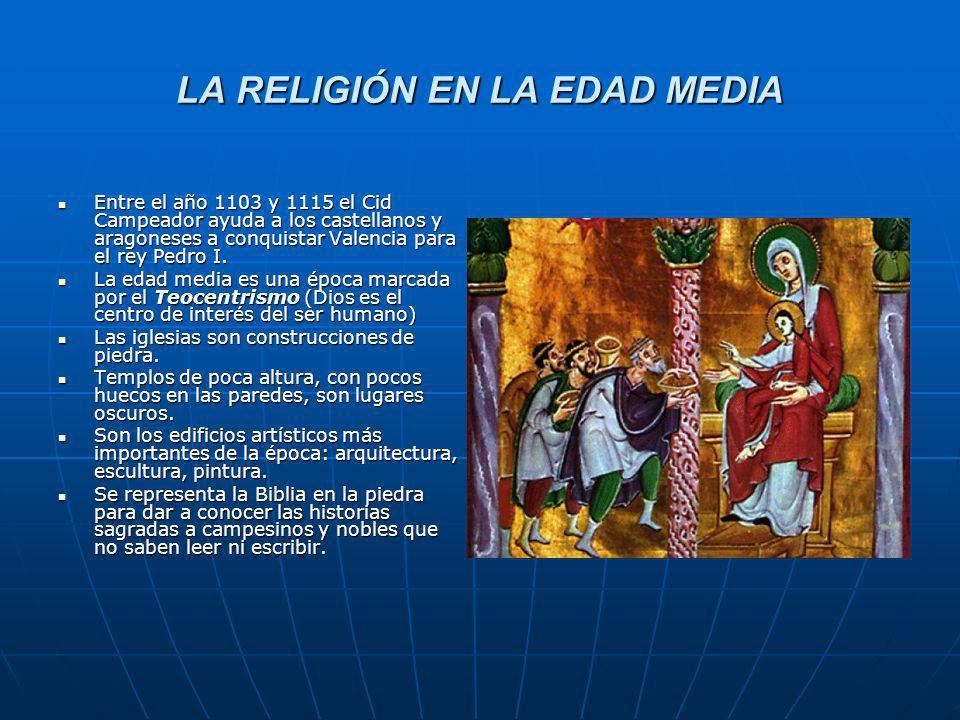 LA RELIGIÓN EN LA EDAD MEDIA