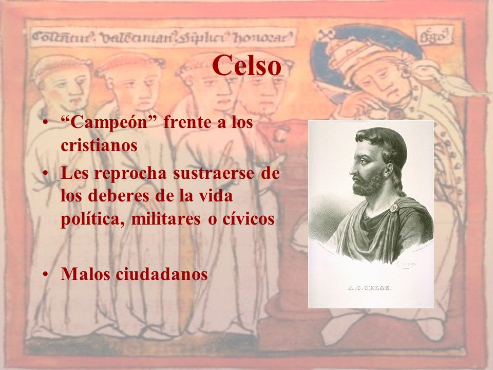 Celso Campeón frente a los cristianos