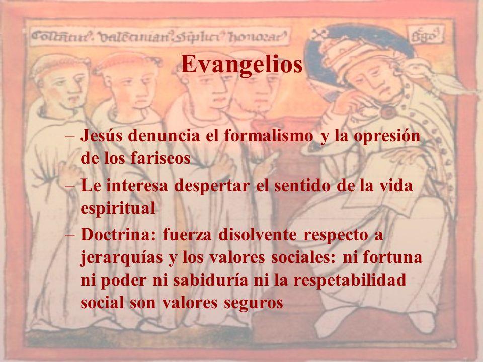 Evangelios Jesús denuncia el formalismo y la opresión de los fariseos