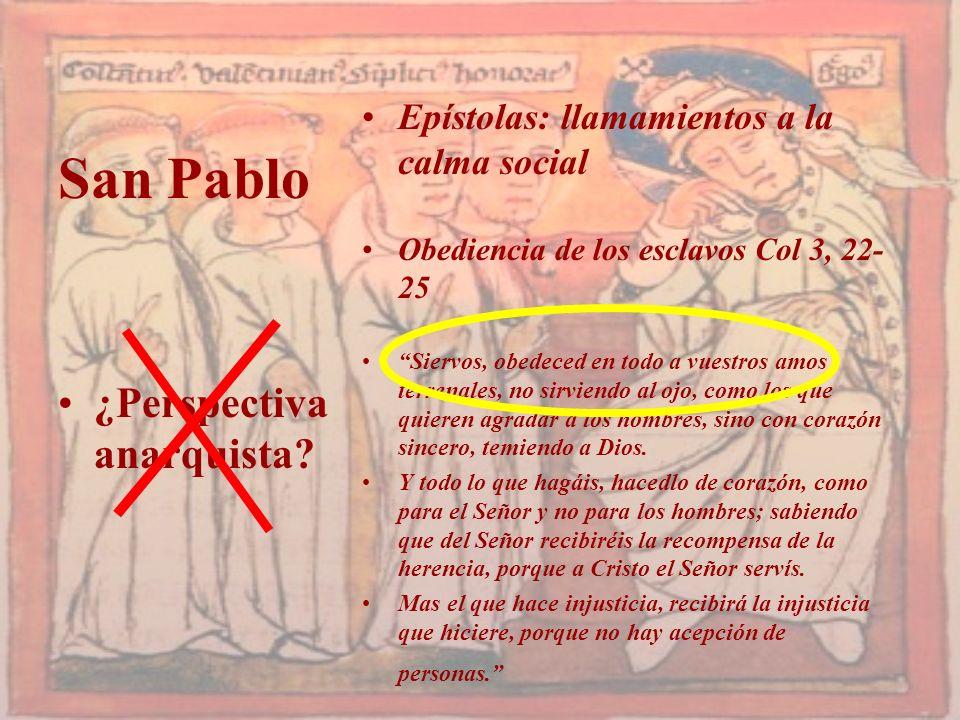 San Pablo ¿Perspectiva anarquista