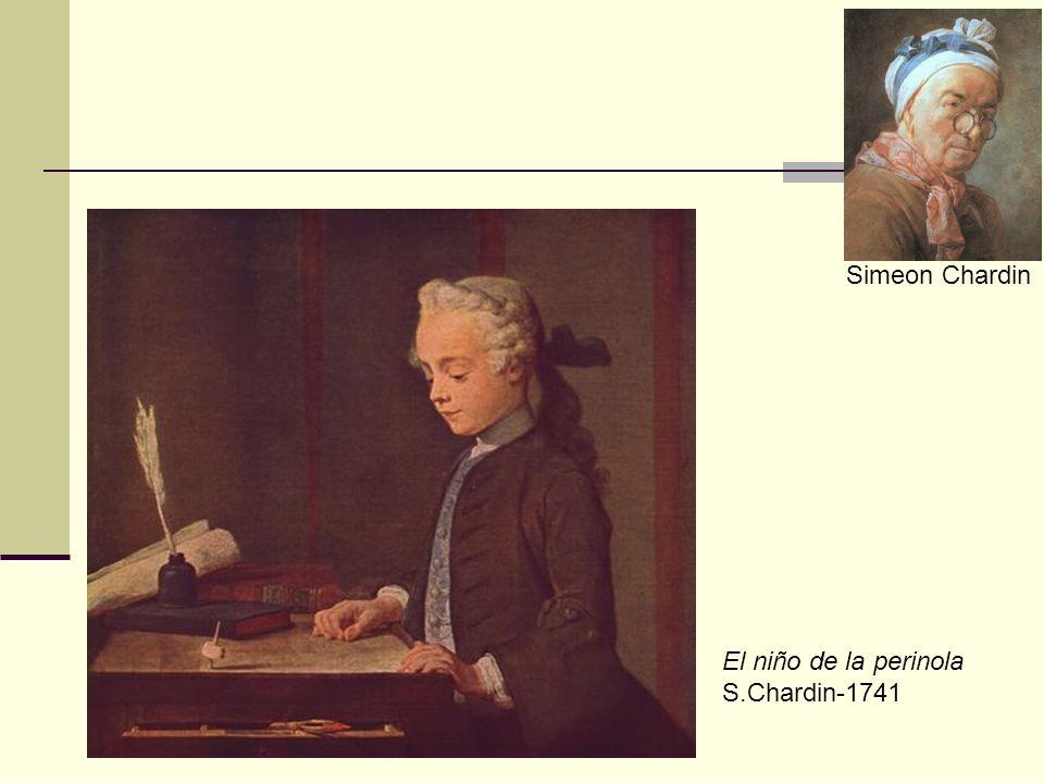 Simeon Chardin El niño de la perinola S.Chardin-1741