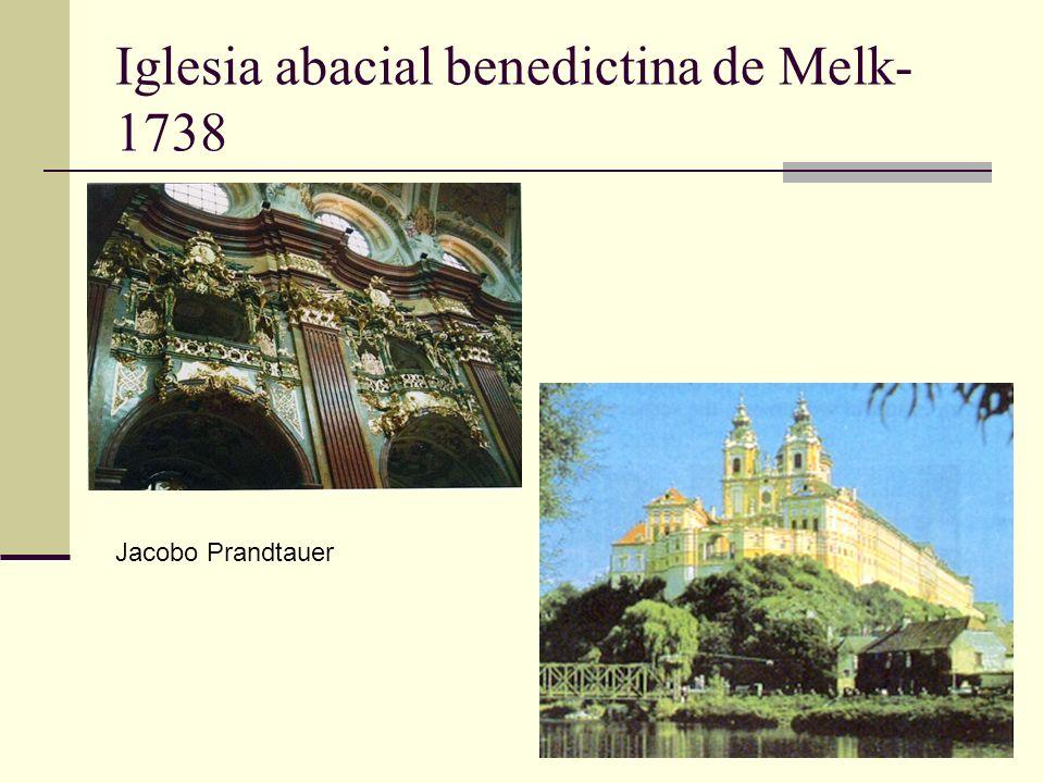 Iglesia abacial benedictina de Melk-1738