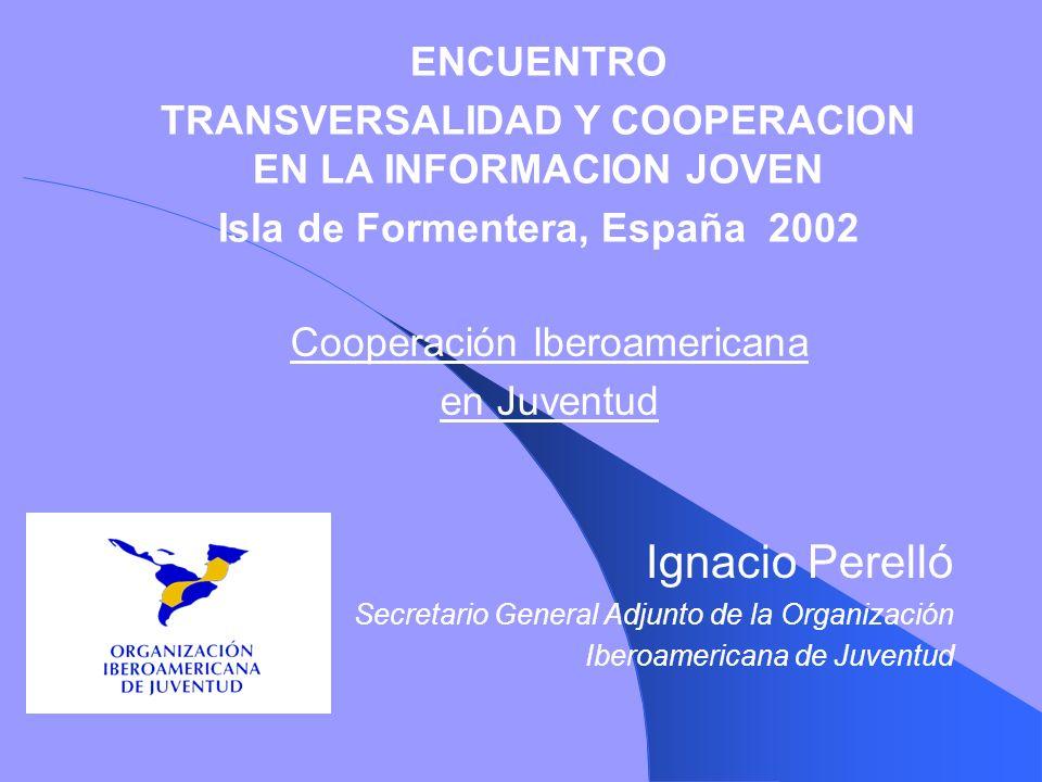 Cooperación Iberoamericana en Juventud
