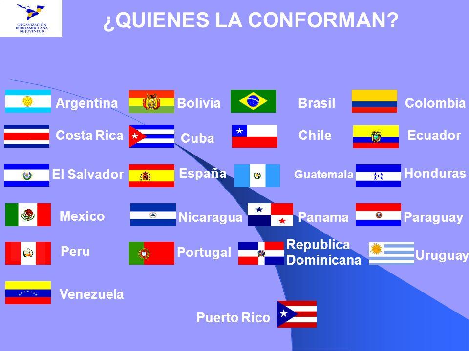 ¿QUIENES LA CONFORMAN Argentina Bolivia Brasil Colombia Costa Rica
