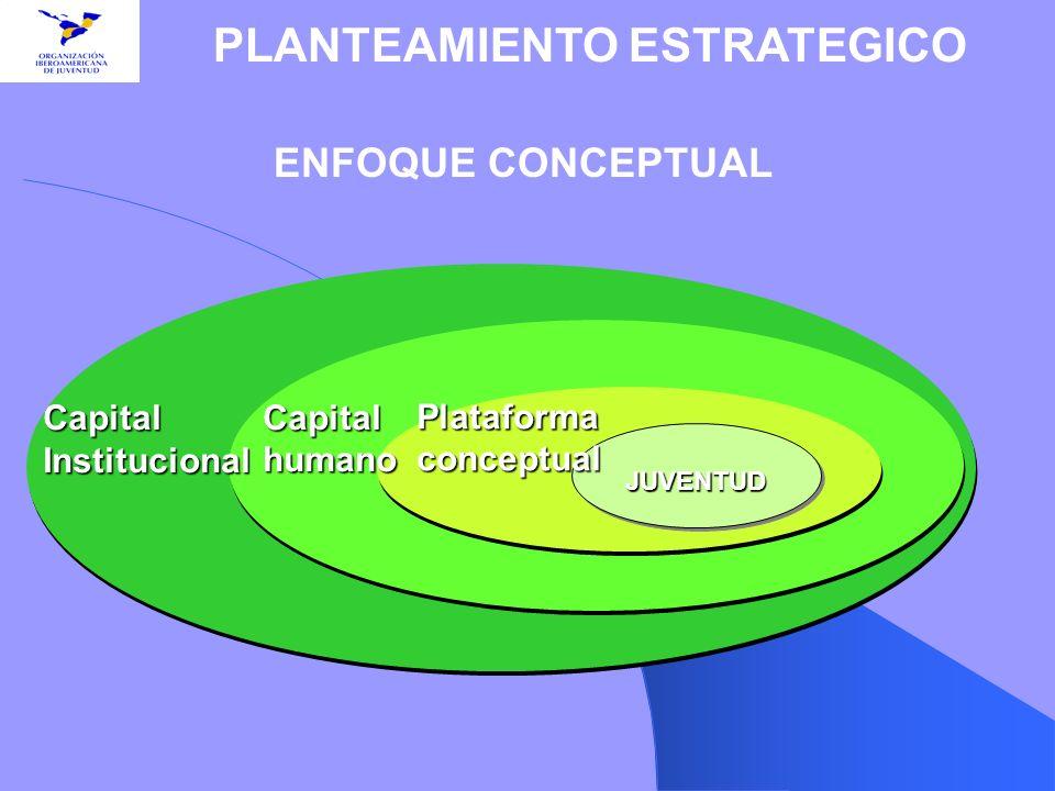 ENFOQUE CONCEPTUAL PLANTEAMIENTO ESTRATEGICO Capital Institucional