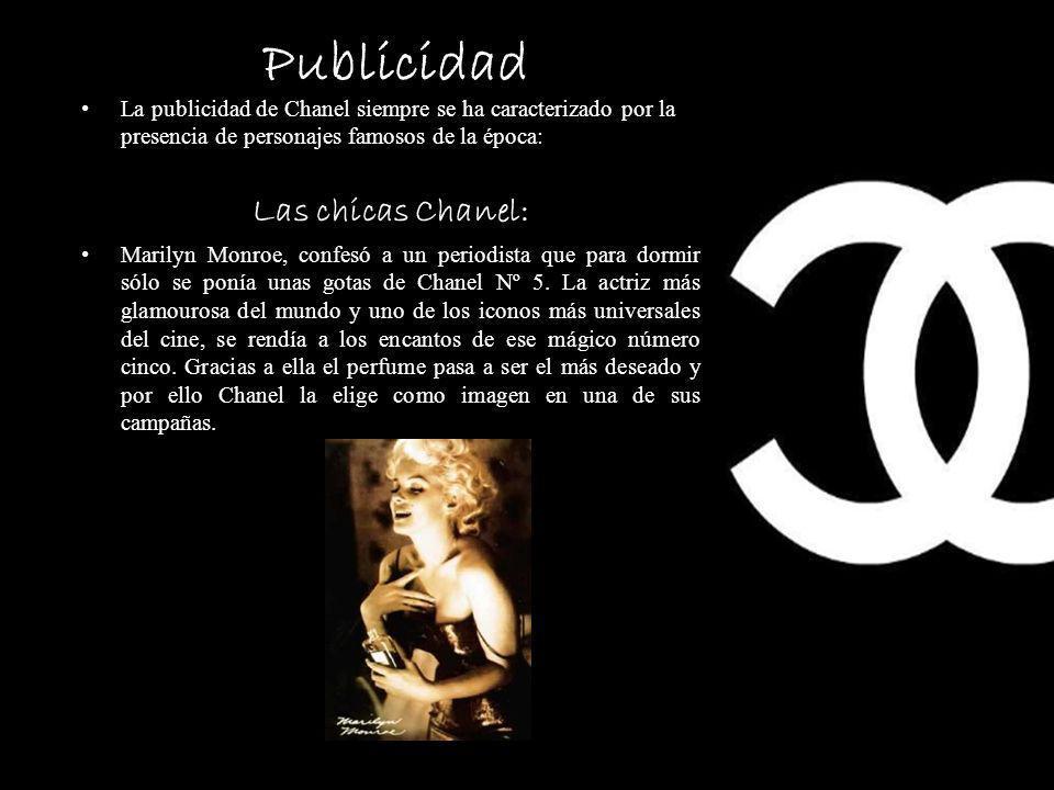 Publicidad Las chicas Chanel: