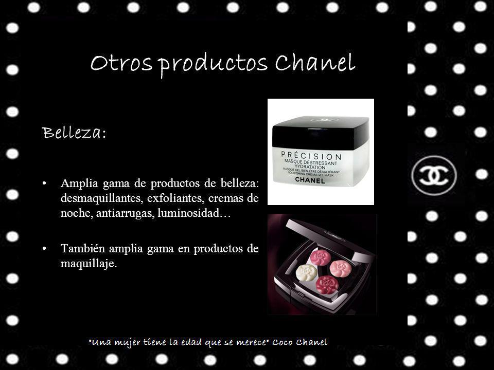 Otros productos Chanel