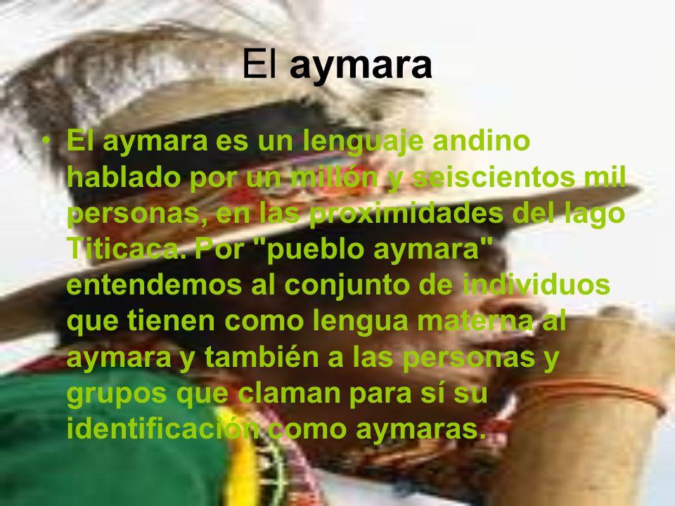 El aymara