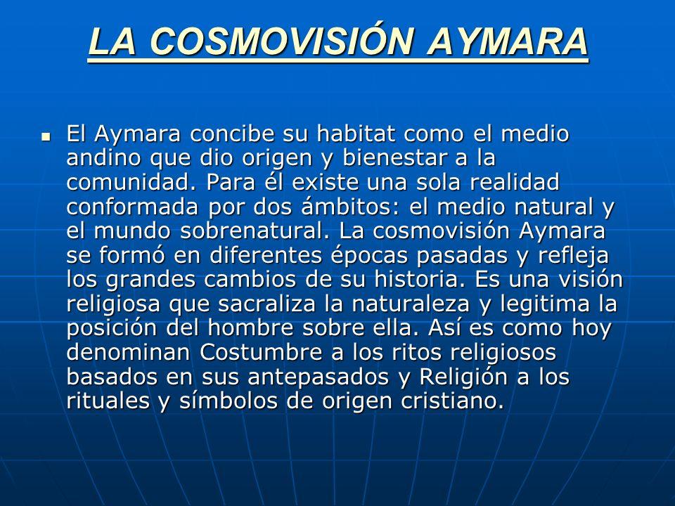 LA COSMOVISIÓN AYMARA