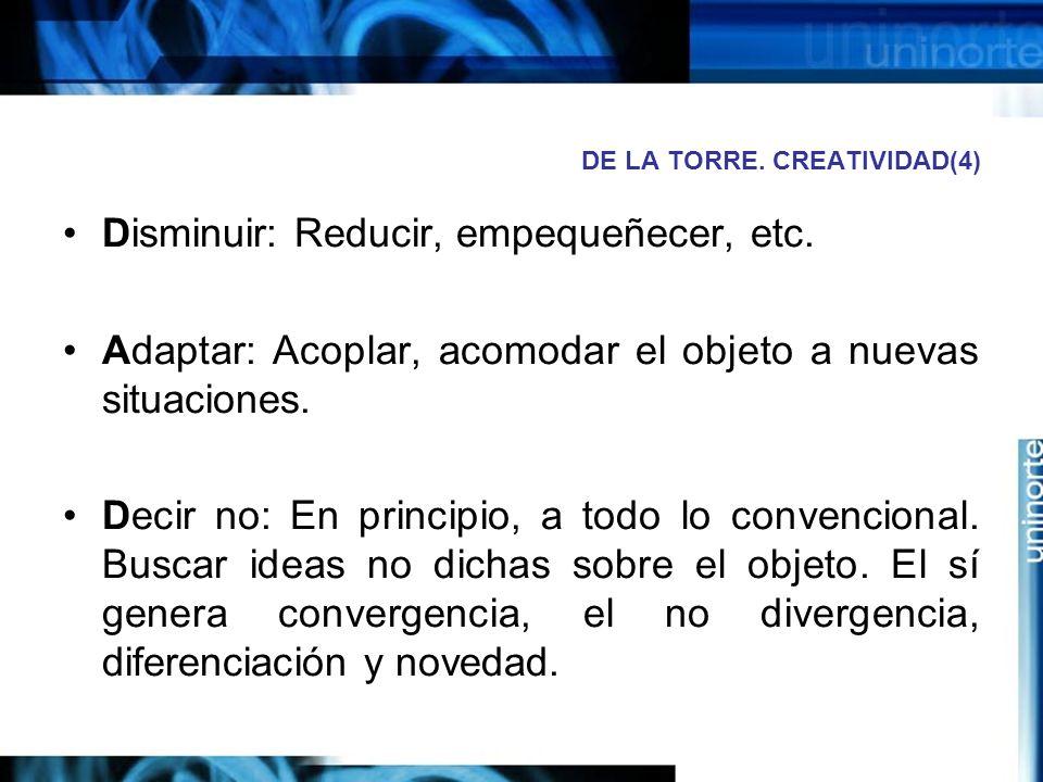 DE LA TORRE. CREATIVIDAD(4)