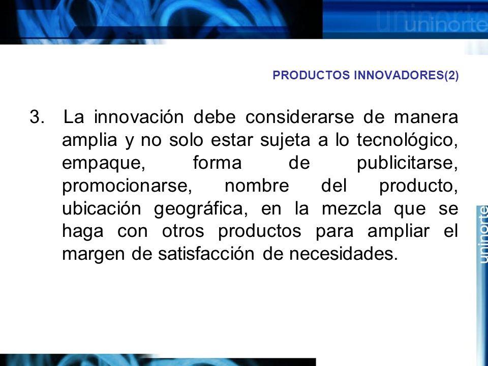 PRODUCTOS INNOVADORES(2)