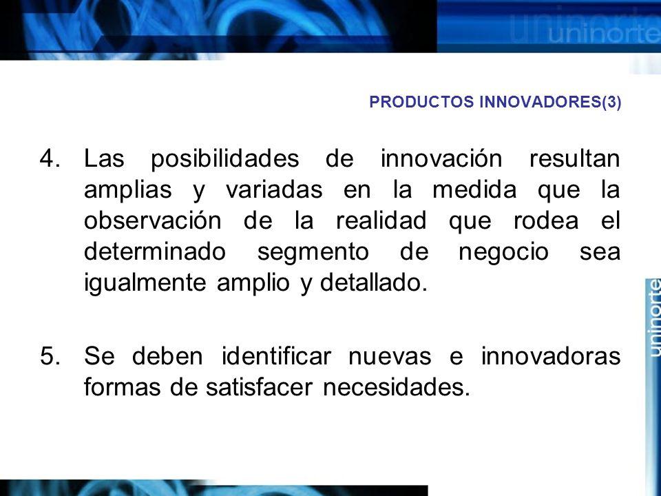 PRODUCTOS INNOVADORES(3)