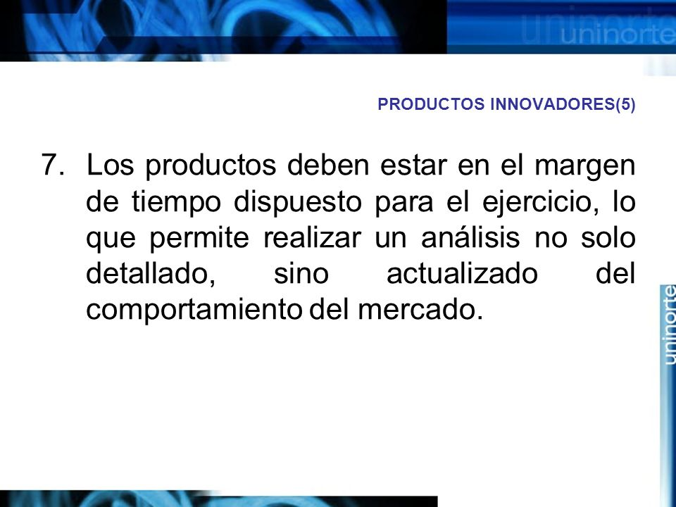 PRODUCTOS INNOVADORES(5)