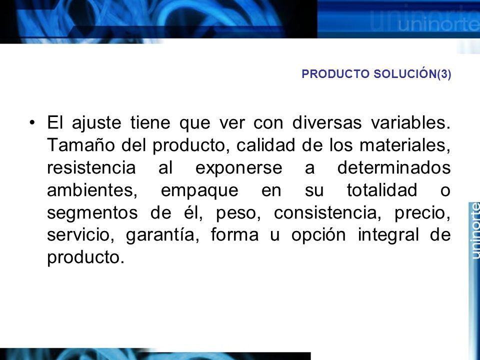 PRODUCTO SOLUCIÓN(3)