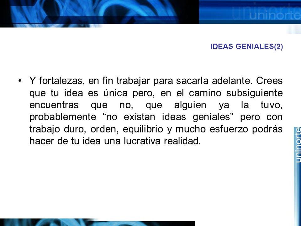 IDEAS GENIALES(2)