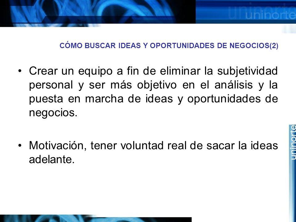 CÓMO BUSCAR IDEAS Y OPORTUNIDADES DE NEGOCIOS(2)