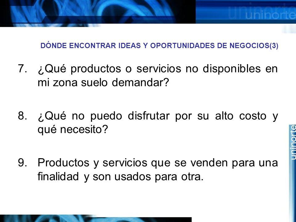 DÓNDE ENCONTRAR IDEAS Y OPORTUNIDADES DE NEGOCIOS(3)
