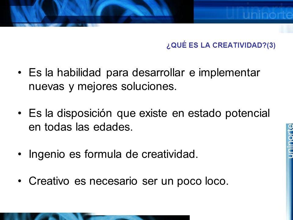 ¿QUÉ ES LA CREATIVIDAD (3)