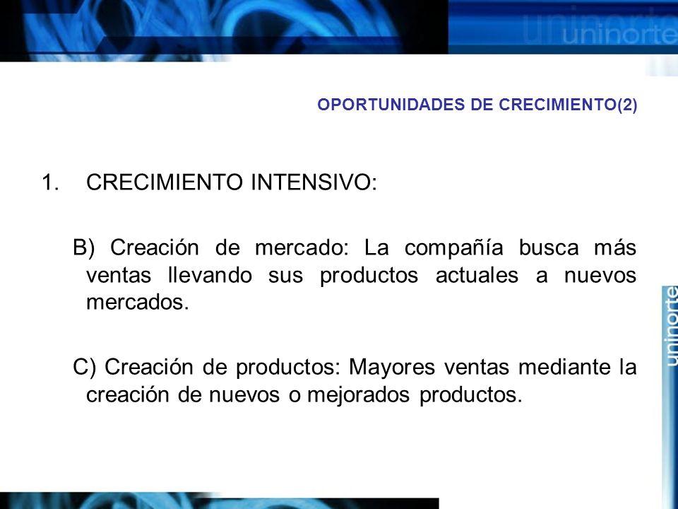 OPORTUNIDADES DE CRECIMIENTO(2)