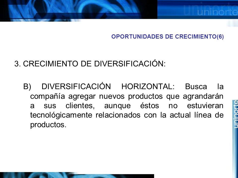 OPORTUNIDADES DE CRECIMIENTO(6)