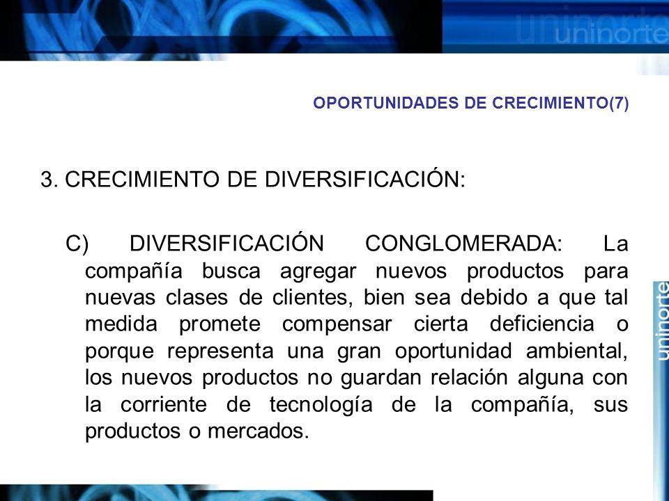 OPORTUNIDADES DE CRECIMIENTO(7)