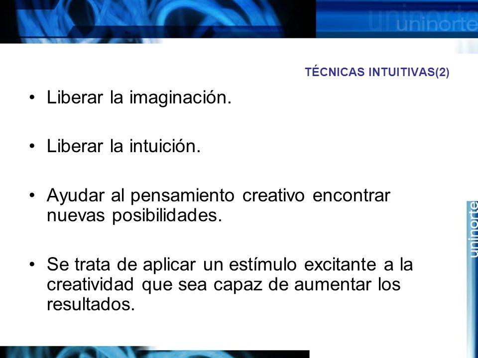 TÉCNICAS INTUITIVAS(2)