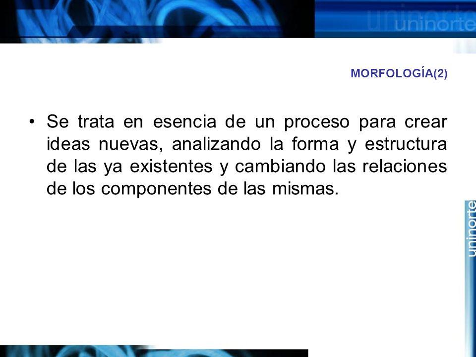 MORFOLOGÍA(2)