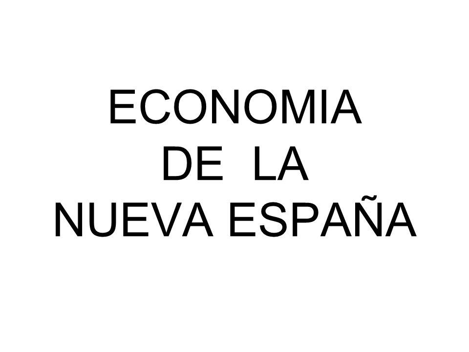 ECONOMIA DE LA NUEVA ESPAÑA