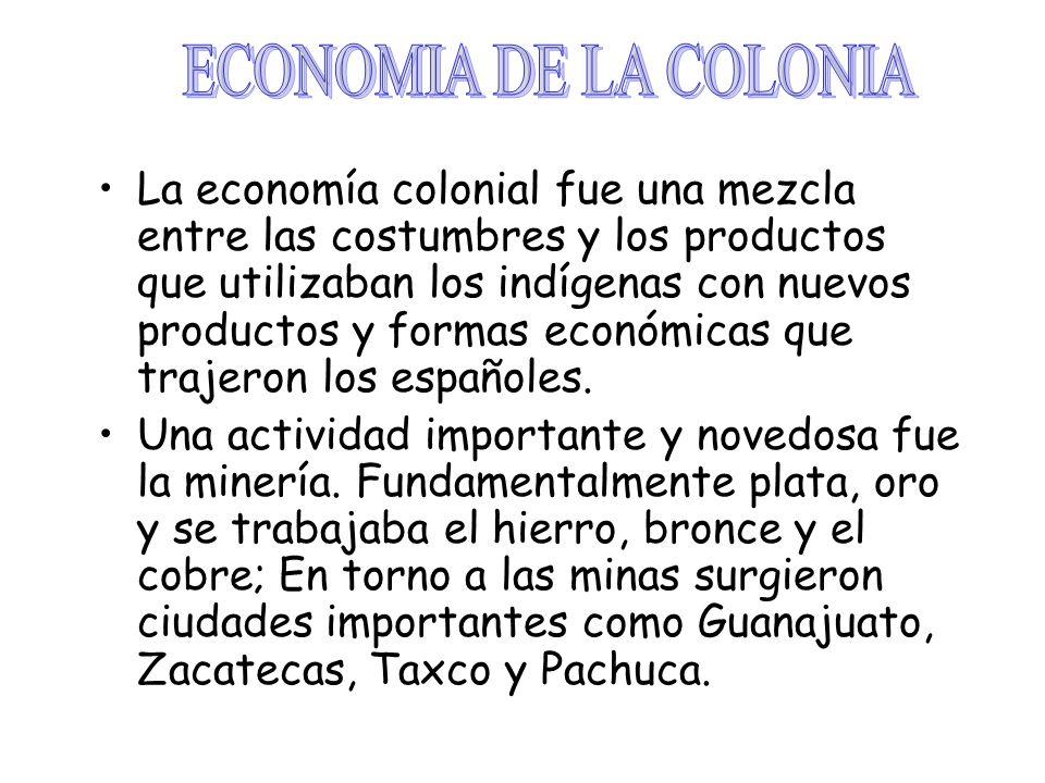 ECONOMIA DE LA COLONIA