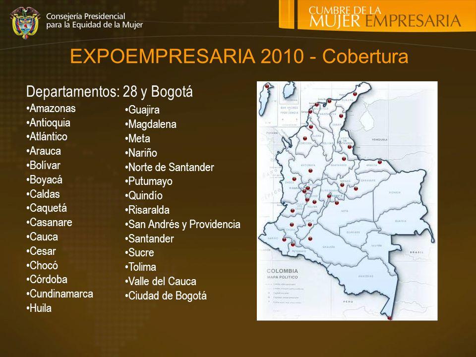 EXPOEMPRESARIA 2010 - Cobertura