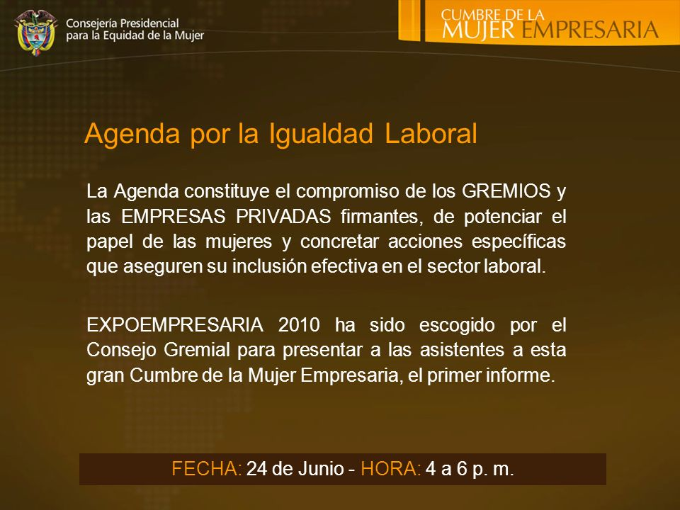 Agenda por la Igualdad Laboral