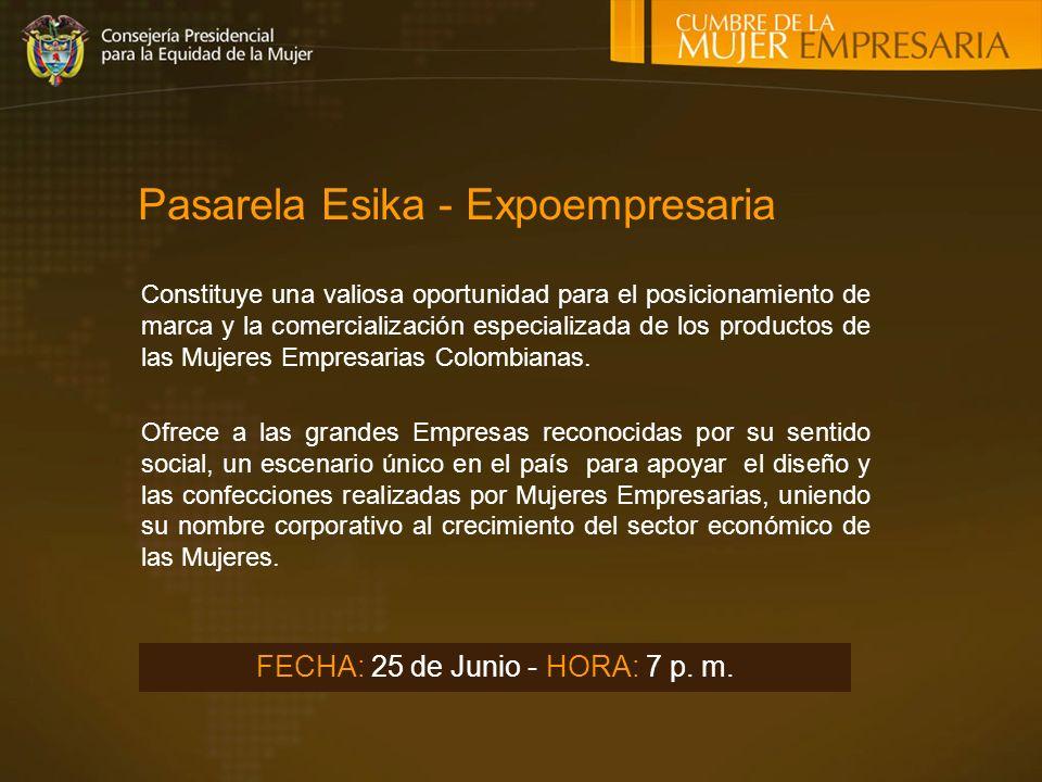 Pasarela Esika - Expoempresaria