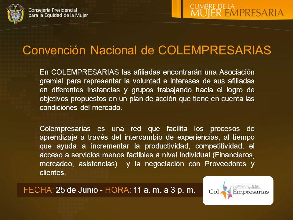 Convención Nacional de COLEMPRESARIAS