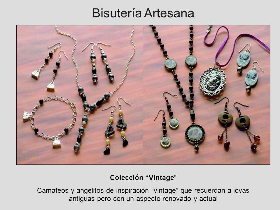 Bisutería Artesana Colección Vintage