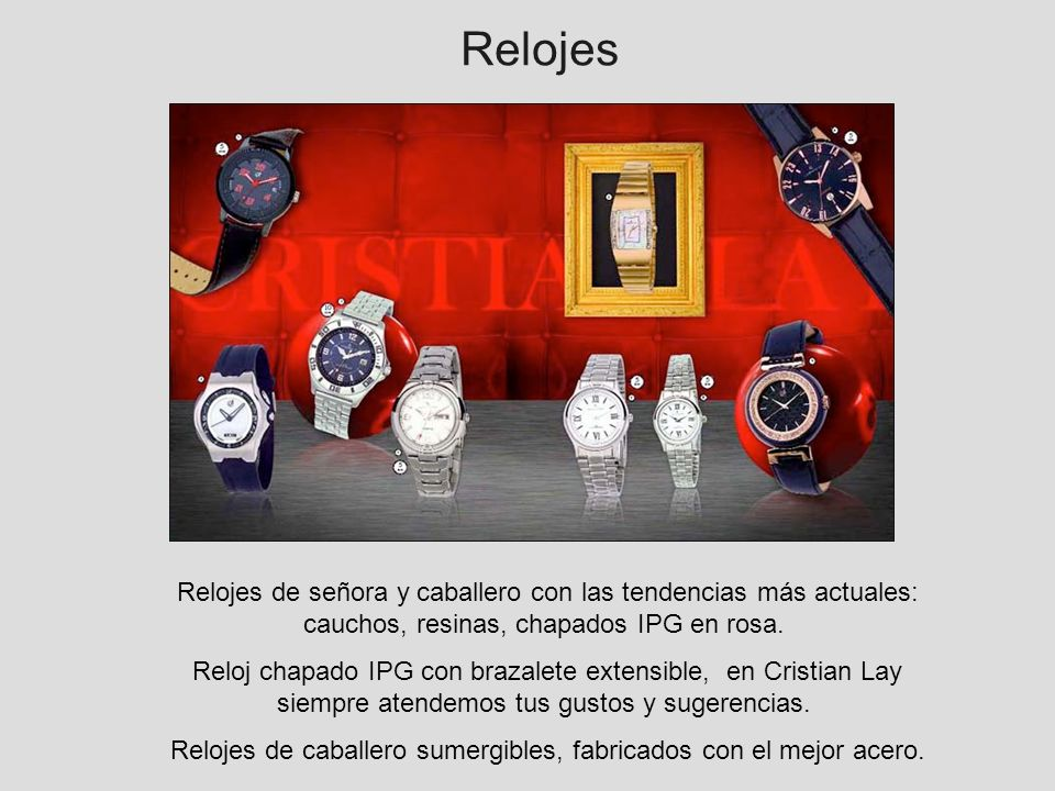 Relojes foto doble pagina - novedades