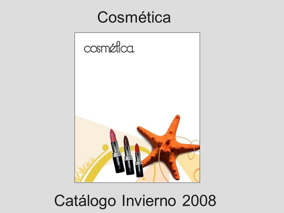 Cosmética Catálogo Invierno 2008