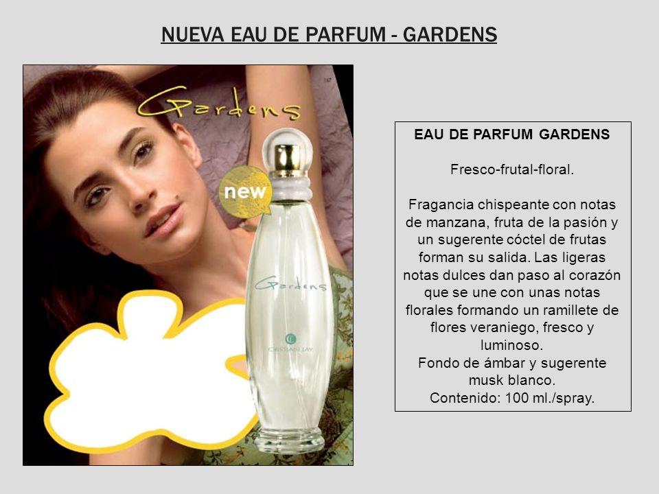 NUEVA EAU DE PARFUM - GARDENS