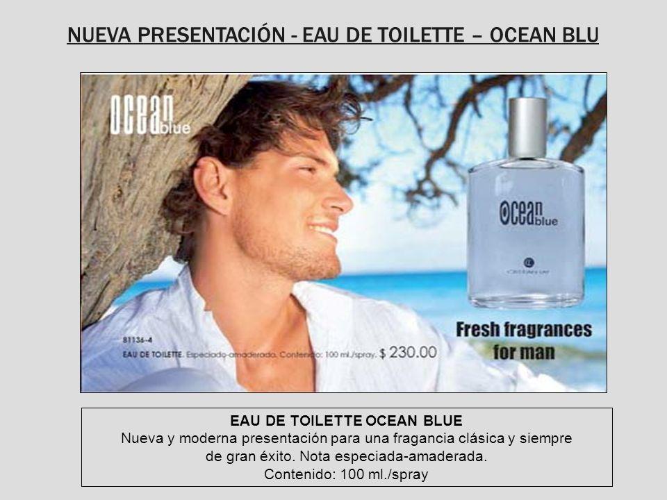 EAU DE TOILETTE OCEAN BLUE