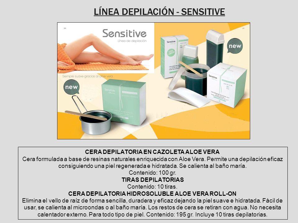LÍNEA DEPILACIÓN - SENSITIVE