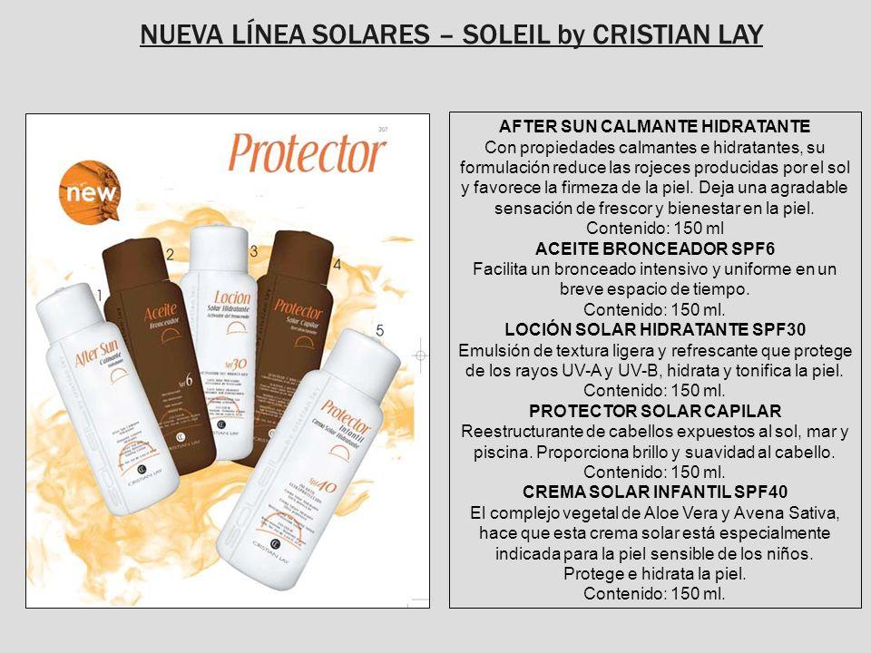 NUEVA LÍNEA SOLARES – SOLEIL by CRISTIAN LAY