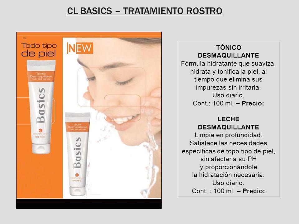 CL BASICS – TRATAMIENTO ROSTRO