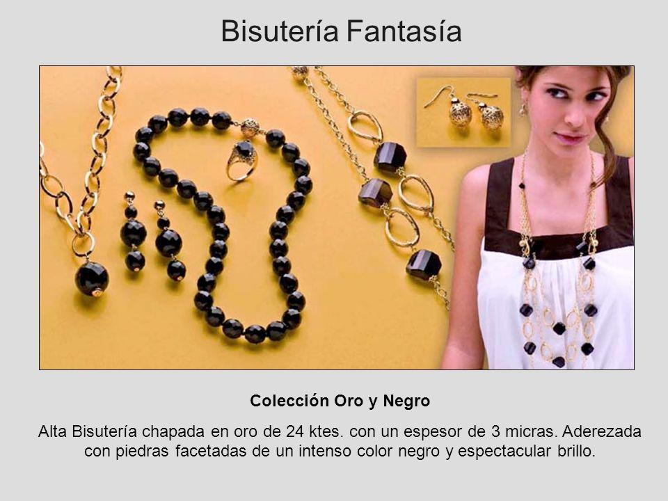 Bisutería Fantasía Colección Oro y Negro