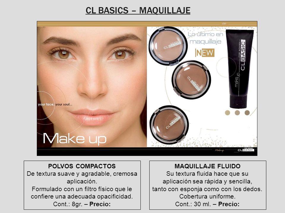 CL BASICS – MAQUILLAJE POLVOS COMPACTOS