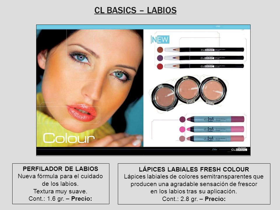 LÁPICES LABIALES FRESH COLOUR