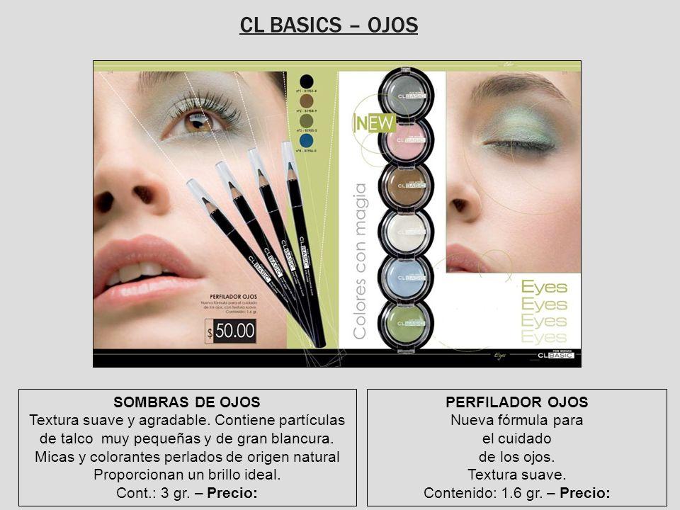 CL BASICS – OJOS SOMBRAS DE OJOS