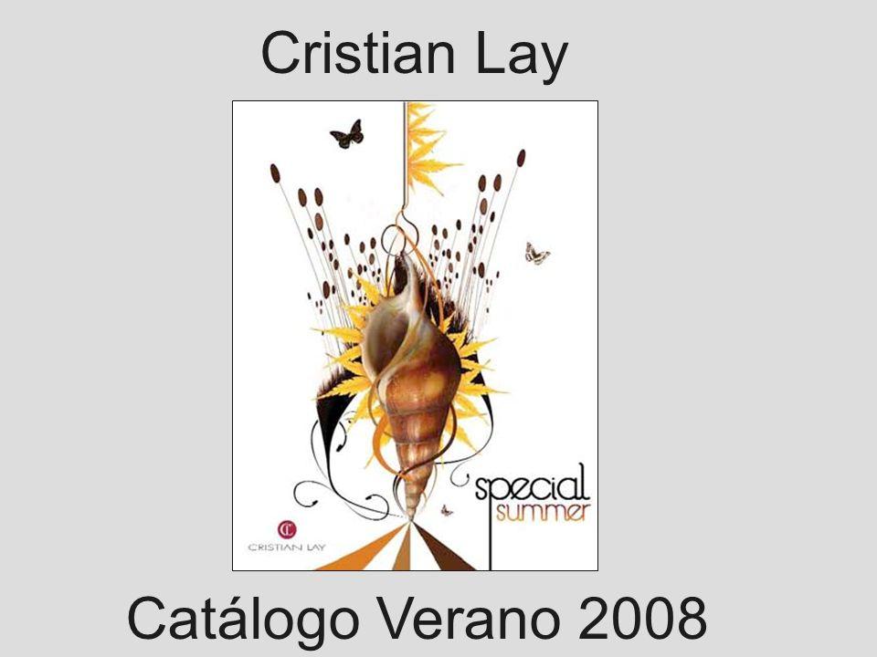 Cristian Lay Catálogo Verano 2008
